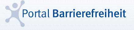 Logo des Portals Barrierefreiheit